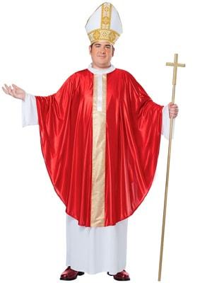 Фото Костюм Папа Римский (большой размер) взрослый