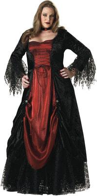Фото Костюм Обворожительная вампирша (большой размер) взрослый