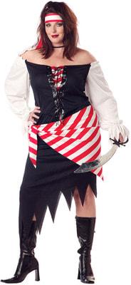 Фото Костюм Пиратка Руби (большой размер) взрослый