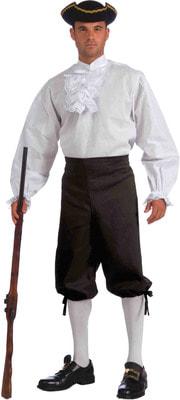 Фото Костюм Пиратская рубашка белая взрослый