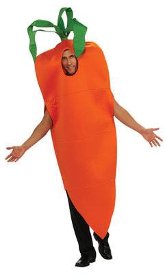 Фото Костюм Полезная морковка взрослый