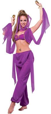 Фото Костюм принцесса пустыни фиолетовый взрослый