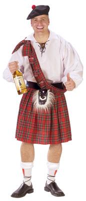 Фото Костюм Веселый шотландец взрослый