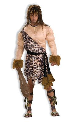 Фото Костюм Пещерный человек с мускулами взрослый