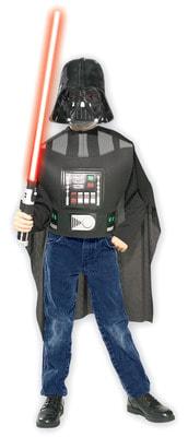 Фото Костюм Дарт Вейдер - комплект в блистере (Звездные войны) эконом детский