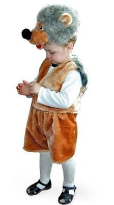 Фото Костюм Ежик (с шапочкой) детский