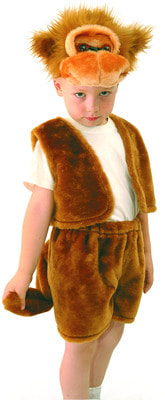 Фото Костюм Обезьянка в шортах детский
