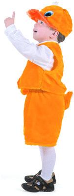 Фото Костюм Утенок желтый детский