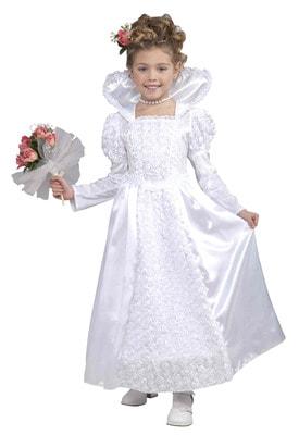 Фото Костюм Принцесса-невеста детский
