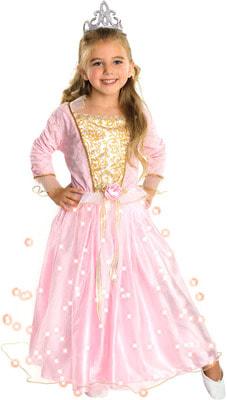Фото Костюм Розовая принцесса детский