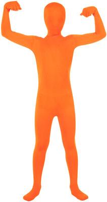 Фото Костюм Оранжевый человек-невидимка детский