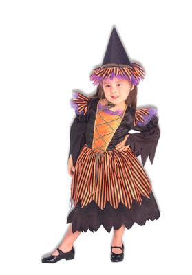 Фото Костюм Сказочная ведьмочка детский