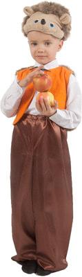 Фото Костюм Ёжик (с жилетом и шапочкой) детский