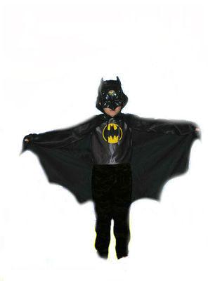 Фото Костюм Бэтмен (Готэм Сити) с плащом и маской детский