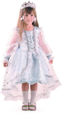 Фото Костюм Снежинка принцесса детский