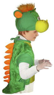 Фото Костюм Дракоша (с шапочкой) детский