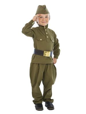 Фото Костюм Гимнастерка с брюками детский