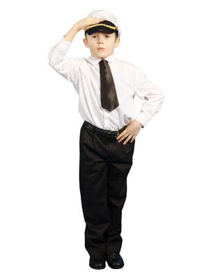 Фото Костюм Капитан (фуражка и галстук) детский