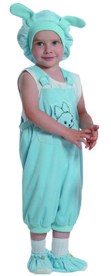 Фото Костюм Голубой кролик детский