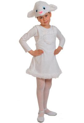 Фото Костюм Овечка в платье детский