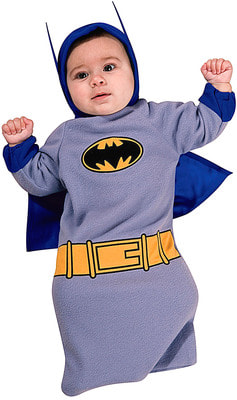 Фото Костюм Бэтмен с плащом детский