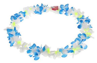 Фото Ожерелье гавайское трехцветное