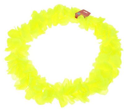 Фото Гавайское ожерелье Лепестки ириса лимонное