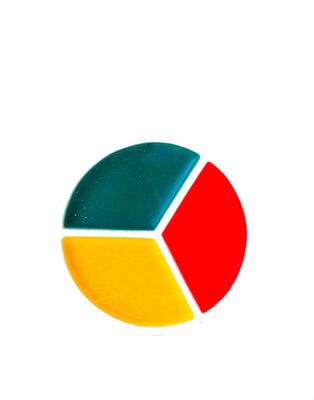Фото Краски-грим (красный, зеленый, желтый)
