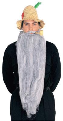Фото Длинная борода (серая)