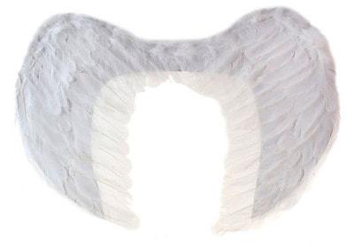 Фото Крылья ангела белые 65 см ? 40 см