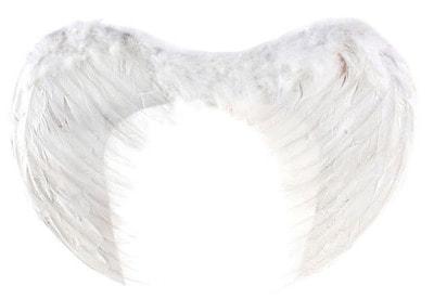 Фото Крылья ангела белые 55 см ? 40 см