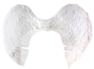 Фото Крылья ангела белые 60 см ? 80 см