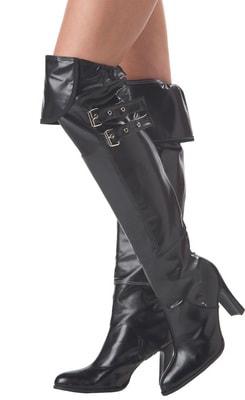Фото Имитация обуви Пиратские сапоги deluxe взрослые