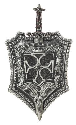 Фото Рыцарский щит и меч