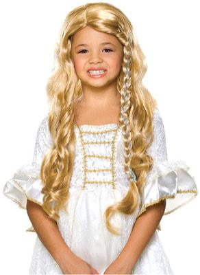 Фото Детский парик Принцесса-блондинка