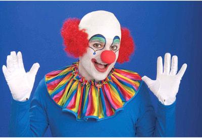 Фото Клоунский парик с лысиной взрослый