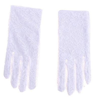 Фото Мини перчатки ажурные взрослые