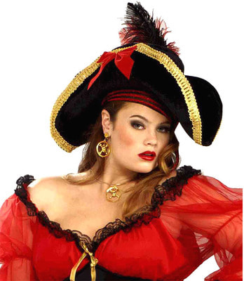 Фото Шляпа Пиратка капитан