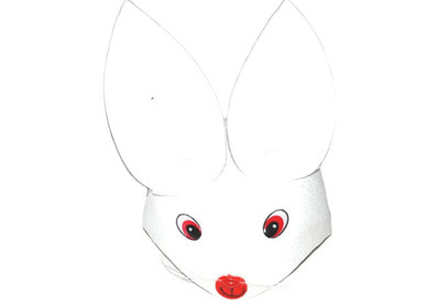 Фото Шапка зайца детская