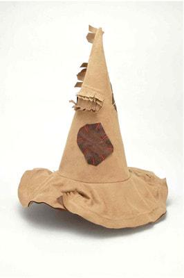 Фото Колпак ведьмы в заплатках