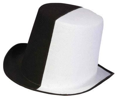 Фото Черно-белая шляпа