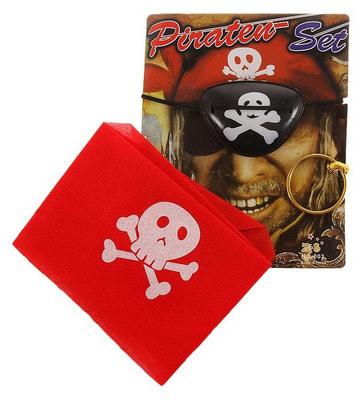 Фото Набор пирата 3 в 1