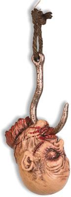 Фото Окровавленная голова на крючке