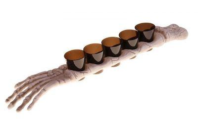 Фото Декорация для Хэллоуина подставка кисть со стаканами