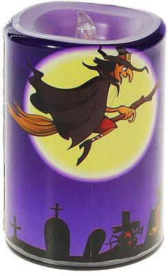 Фото Свеча Дом с привидениями (летящая ведьма)