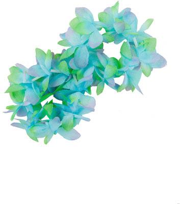Фото Гавайский браслет фиолетово-голубой