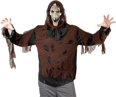 Фото Костюм Восставший из ада (коричневый) взрослый