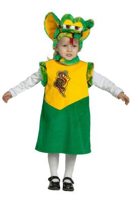 Фото Костюм Маленькая змейка детский