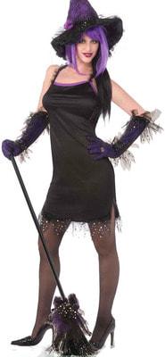 Фото Костюм Ведьма (платье) взрослый