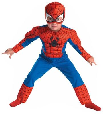 Фото Костюм Мускулистый Человек-паук детский